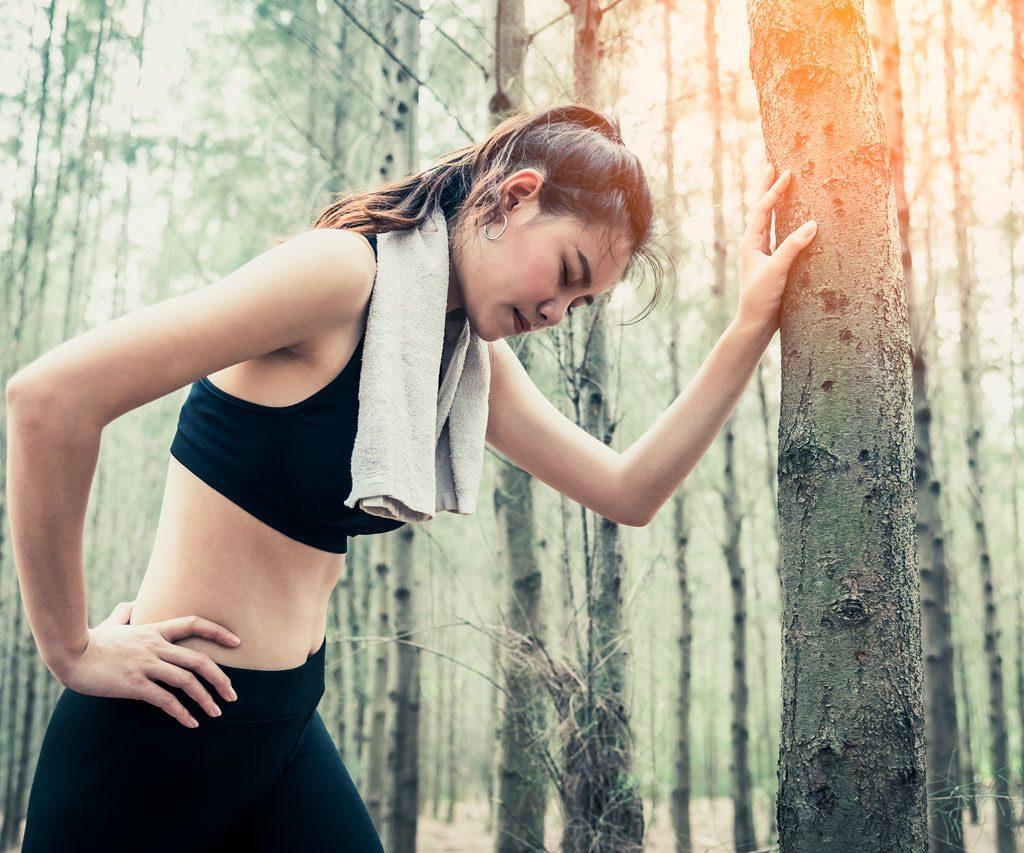 Cansancio al correr